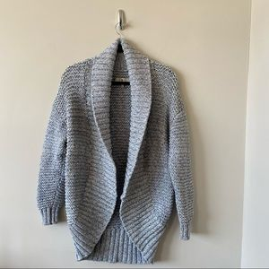 7 For All Mankind Loop Knit Heavy Cocoon Cardigan